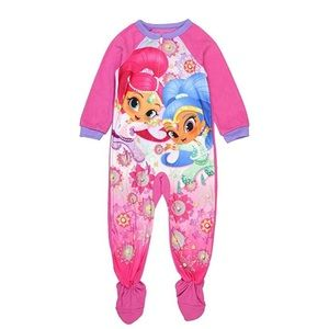 Shimmer & Shine Footie Pajamas Size 2T